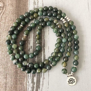 Load image into Gallery viewer, Seraphinite 108 Bead Meditation Bracelet - SOUL IMPACTFUL