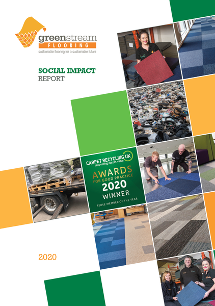 Greenstream Flooring CIC launch 2020 Social Impact Report