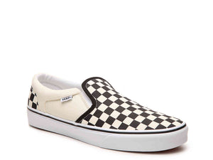 ASHER CHECKERED SLIP-ON SNEAKER - MEN'S
