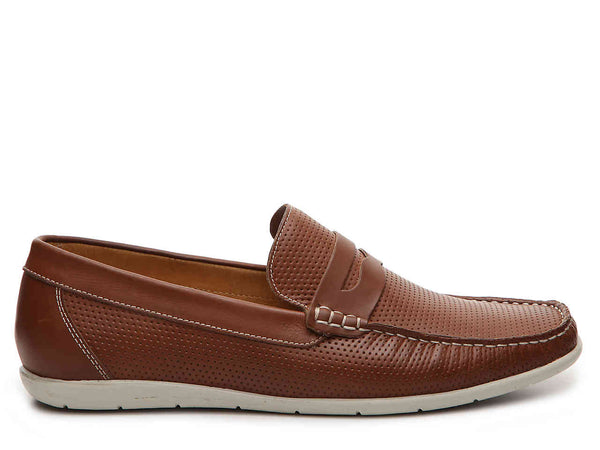 PERFORATED PENNY LOAFER