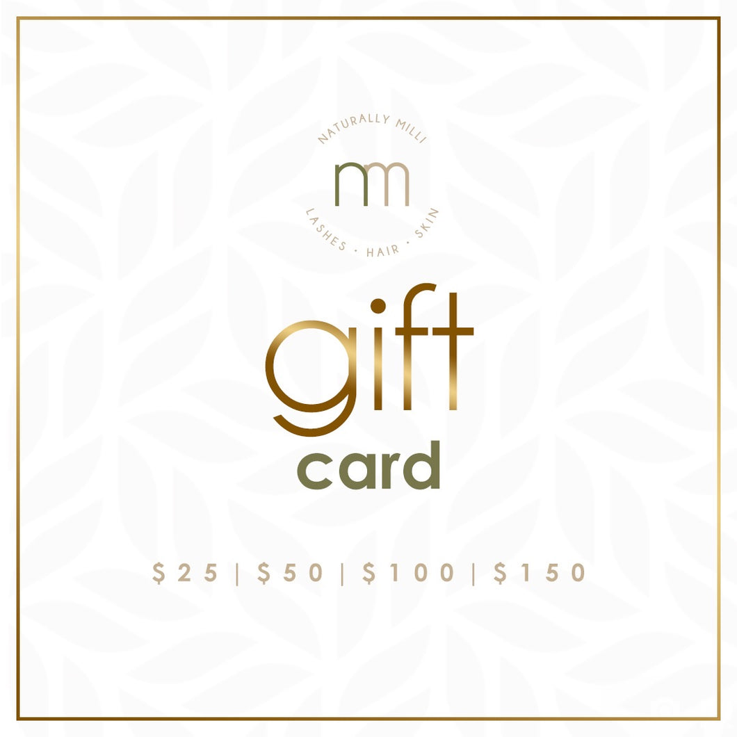 Naturally Milli Gift Card