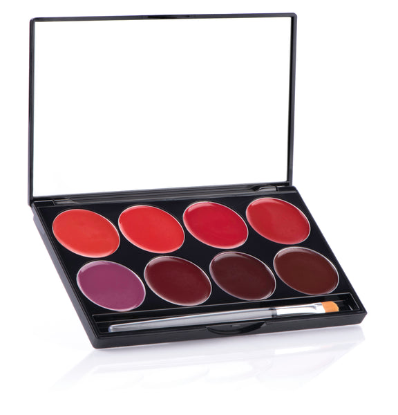 NIGHT 8 COLOR PALETTE- Mehron L.I.P 8 Color Cream Palette