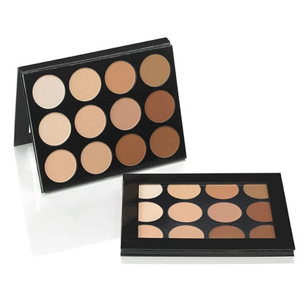 Mehron Celebré Pro-HD™ Pressed Powder 12 Color Palette