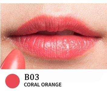 B03 CORAL ORANGE- Yerma Lipstick (Black)