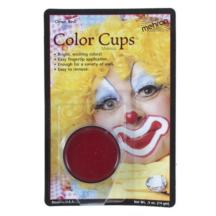 Clown Red- Mehron Color Cups