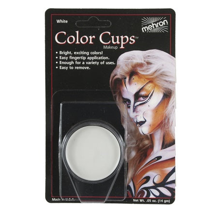 White- Mehron Color Cups