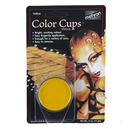 Yellow- Mehron Color Cups