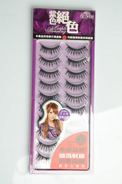 All-Belle Natural Lash D4825 (10 Pair)