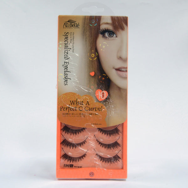 All-Belle Natural Lash D6156 (10 Pair)