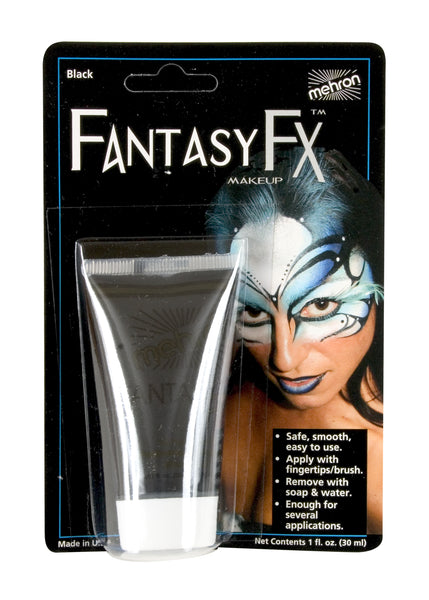 Black- Fantasy FX Water Based Makeup