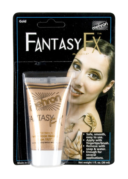 Gold- Fantasy FX Water Based Makeup