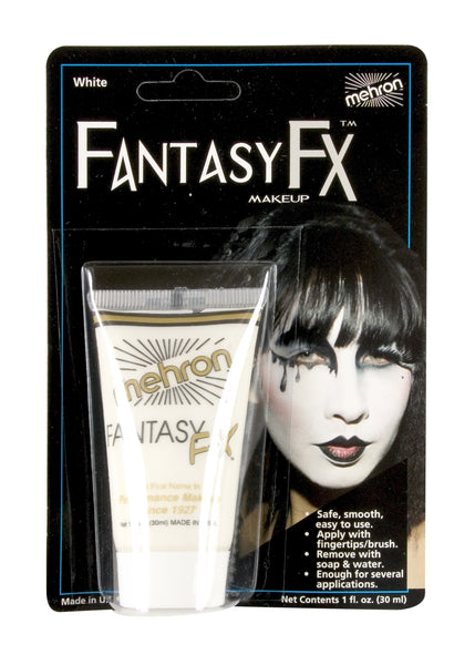 White- Fantasy FX Water Based Makeup