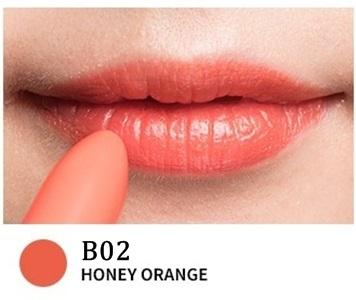 B02 HONEY ORANGE- Yerma Lipstick (Black)