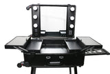 Professional LED Lighted Makeup Studio w/stand (Black)