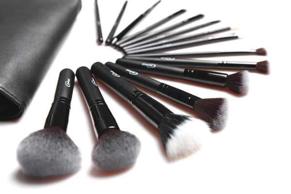 Cinema Makeup PRO Brush Set 15pcs with Bag