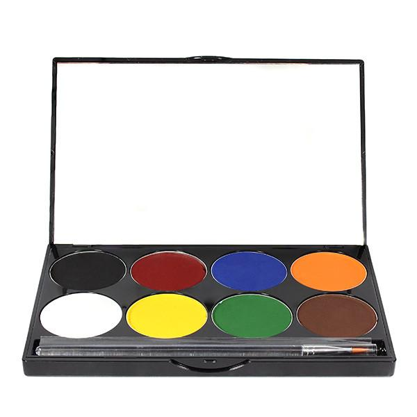 BASIC Mehron Paradise Makeup AQ™- 8 Color Palette