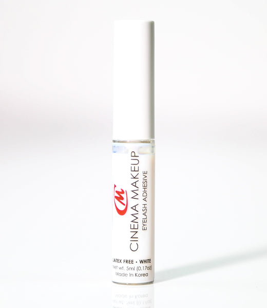 CINEMA MAKEUP EYELASH ADHESIVE - White  5ml