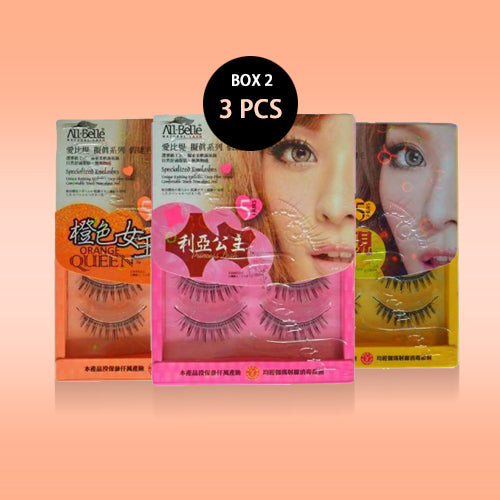 PROMO 3 BOXES All-Belle Natural Lash (5 pairs)