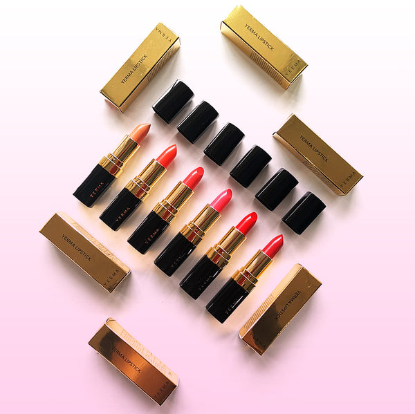 Yerma Lipstick 1 Set (Gold Edition)