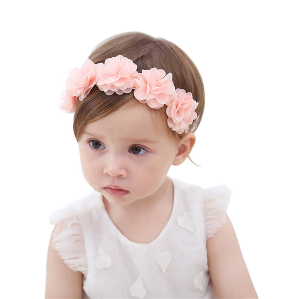 Baby's Headbands Girl's Cute Hair Band Headdresses Hair Accessories for Newborn Babies