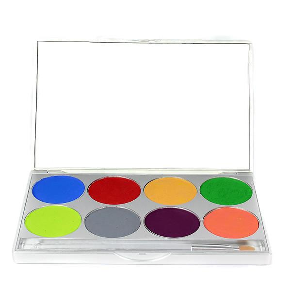 TROPICAL Mehron Paradise Makeup AQ™- 8 Color Palette