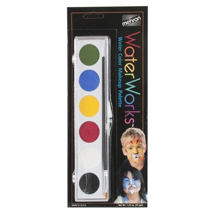 Waterworks Paint Palette Carded