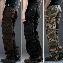 Load image into Gallery viewer, Classical Mens Casual Military Army Cargo Camo Combat Work Pants Trousers Pant
