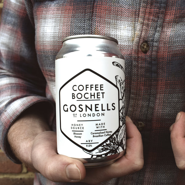 Can of Coffee Bochet, part of our small batch program