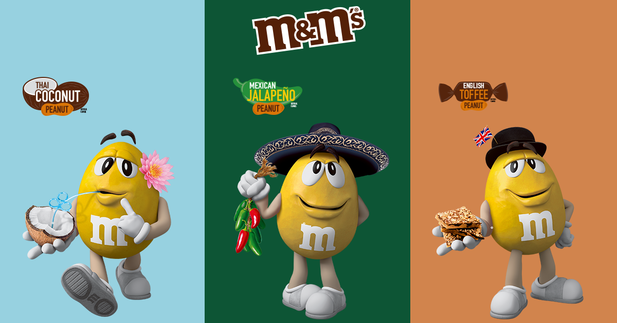 New M&M's Flavours