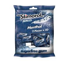 Stimorol Bag Air Rush With Halls 140g