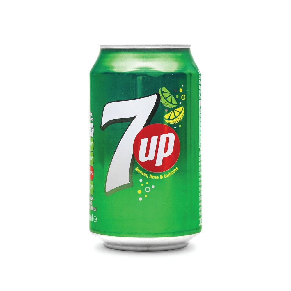 7 Up Lemon Lime Can 330ml
