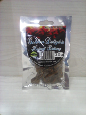 Golden Delights Salt And Pepper Biltong 30g
