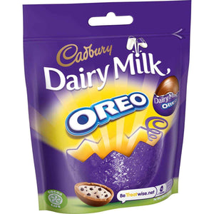 Dairy Milk Oreo Mini Eggs Bag 82g
