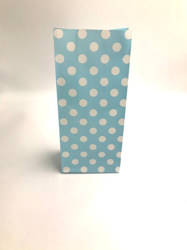 Craft Bag Dotted Blue-White (10 Pcs)