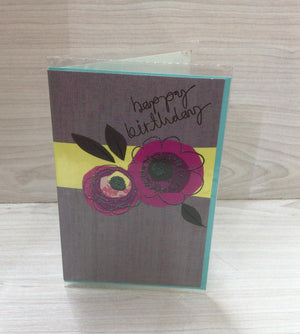 Happy Birthday Greeting Card ECE 0006