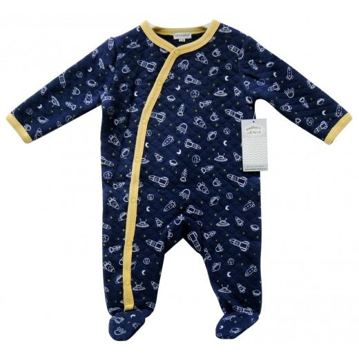 Mothers Choice Quilted Sleep Suit IT9408