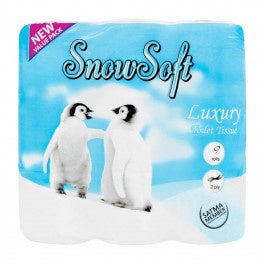 Snow Soft Toilet Paper 2 Ply 9's
