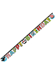 Happy Birthday Party Banner 17253