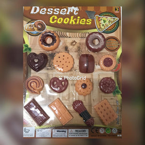 Toy Dessert Cookies Set