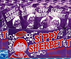 Sippy Sherbet Box Of 36 (Purple)