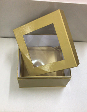 Window Box Gold 19 x 19cm