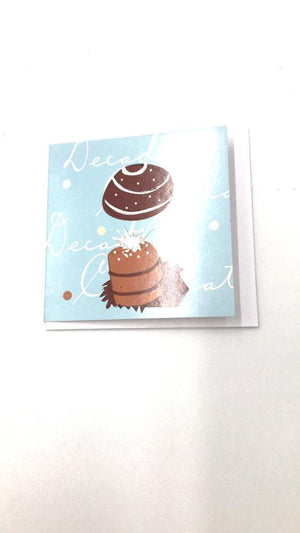 Decadent Chocolate Greeting Card