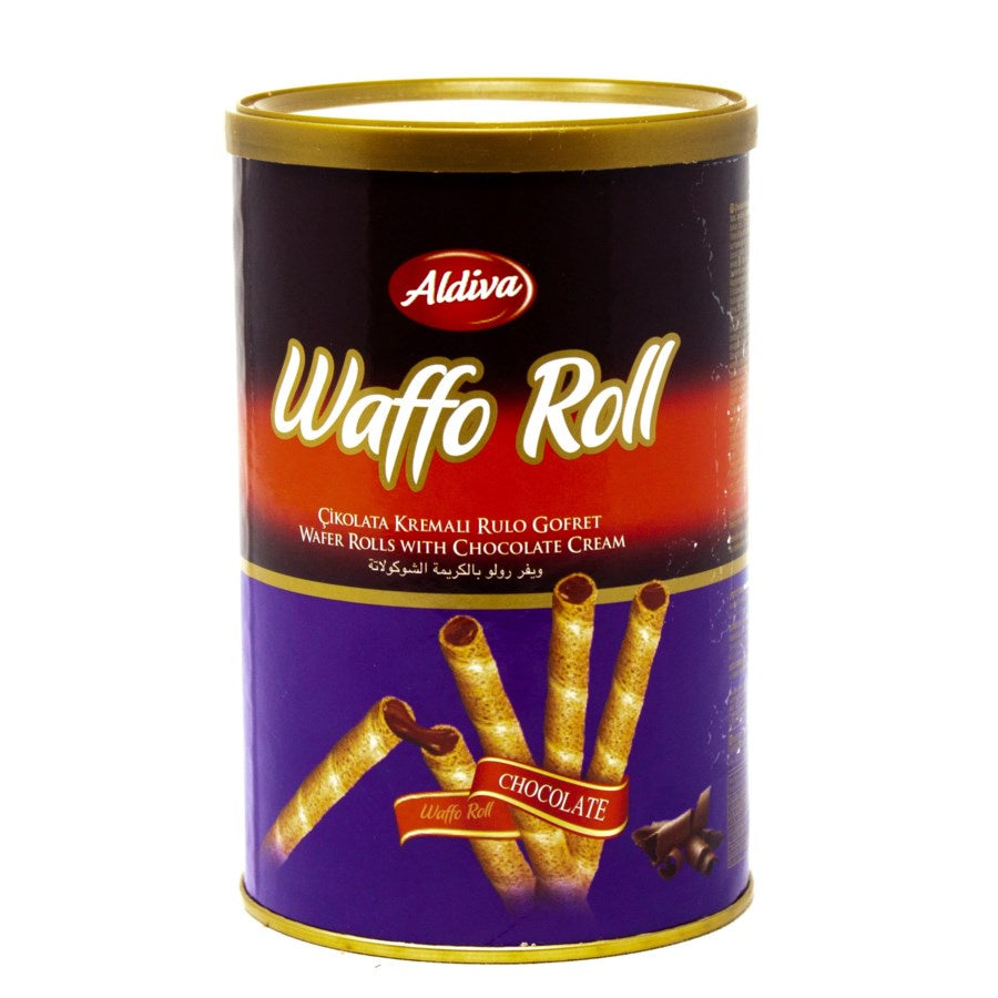 Waffo Roll Tin 250 G