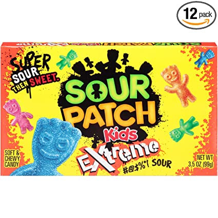 Sour Patch Kids Extreme Video Box 99g