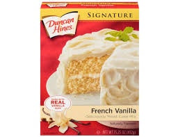 Duncan Hines Signature French Vanilla  Cake Mix