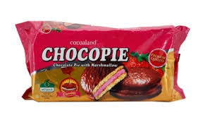 Chocopie Strawberry Pie