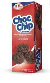 De Vries Choc Chip Cookie Brownie 150g