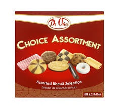 De Vries Choice Assorted 400g