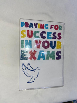 Praying For Success In Your Exams Card