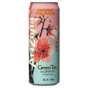 ARIZONA GEORGIA PEACH GREEN TEA 680ml